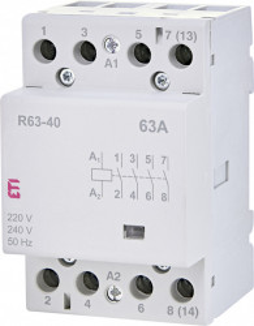 Contactor modular trifazat R63-40 ETI