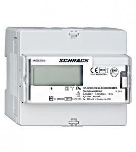 Contor de energie digital,trifazat, 80 A, MID, 1 abonat, Schrack Technik
