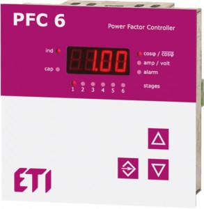 Controler putere reactiva PFC RS - maxim 6 trepte
