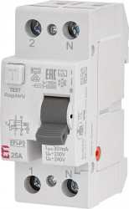 RCCB EFI-P2, tip A, 25 A, 30 mA