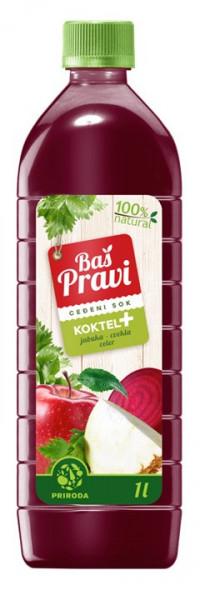 Slika Koktel + (jabuka, cvekla, celer)
