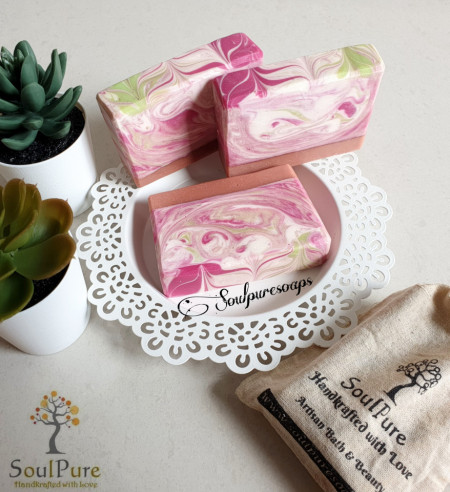 Love spell with Rose Clay Soap images