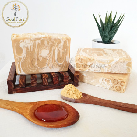 Honey and Yellow clay Soap