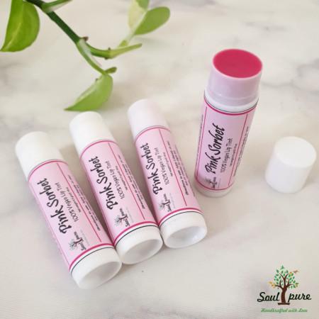 Pink Sorbet Lip Tint - 100% vegan