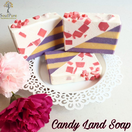 Candy Land soap images