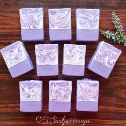 Lavender Love double butter soap