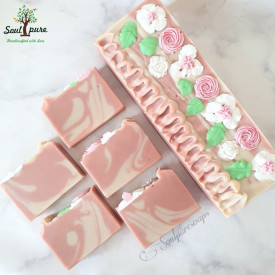 French Pink Clay with coconut milk