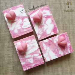 Pink Marble soap