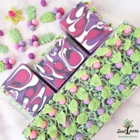 Black Raspberry Vanilla Shea Butter soap