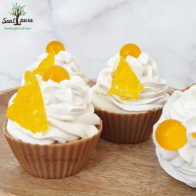 Honey Almond soapy cupcakes