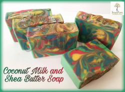 Coconut Milk and Shea Butter Soap