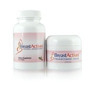 Breast Actives - Natural Breast Enhancement Capsules & Gel.