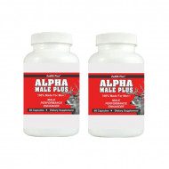 ALPHA MALE PLUS - Sexual Performance Enhancer - 2 Bottles