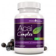 Acai Berry Complex Capsules - Weight Loss Formula - 60 Capsules - Imported from UK