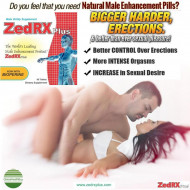 ZedRX Plus™ - Penis Enlargement Pills - One Box - 60 Tablets !