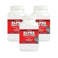 ALPHA MALE PLUS - Sexual Performance Enhancer - 3 Bottles