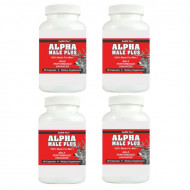ALPHA MALE PLUS - Sexual Performance Enhancer - 4 Bottles