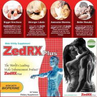 ZedRX Plus™ - Penis Enlargement Pills - Two Boxes (2 Boxes)
