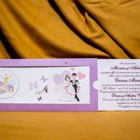 Invitatie nunta şi botez 5021