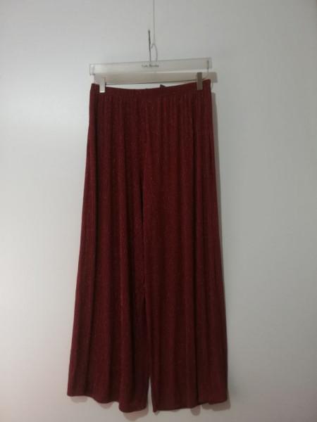 Pantaloni evazați Primark cu inserții de fibre metalice
