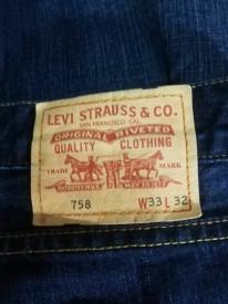 Blugi Levi Strauss 758