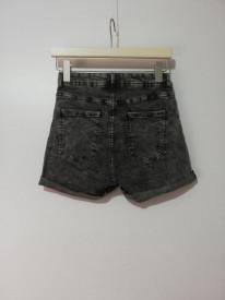 Pantaloni scurți cu talie înaltă Bershka