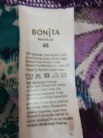 Cămașă Bonita mănecă 3/4