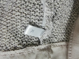 Pulover Yessica cu inserții de fire argintii