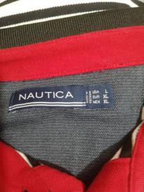 Tricou cu guler Nautica