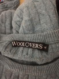 Pulover de lănă Woolovers amestec merino cu cașmir