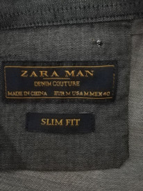 Cămașă Zara slim fit