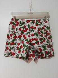 Pantaloni scurți cu talie înaltă Zara Basic