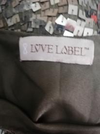 Rochie cu paiete Love Label
