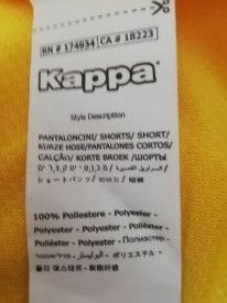 Tricou sport Kappa