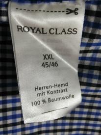 Cămașă Royal Class în carouri