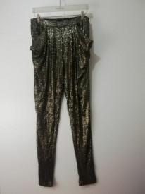 Pantaloni Zara Basic cu paiete