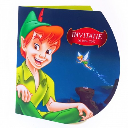 Invitatie Botez Contur Peter Pan