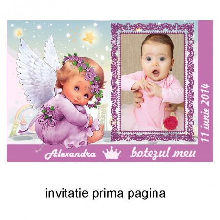 Invitatie Botez Ingeras Disney 1