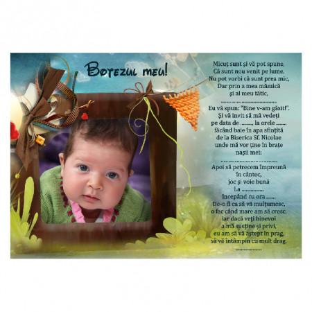 Invitatie Botez Magnetica Poveste 6