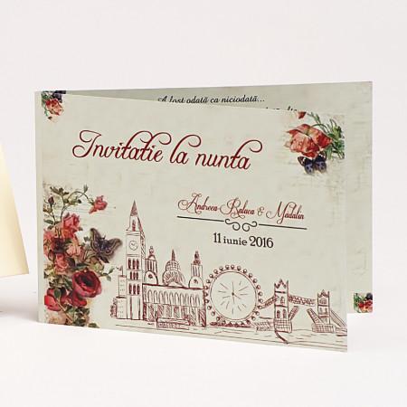 Invitatie Nunta Londra