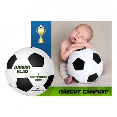 Magnet Contur Fotbal 20