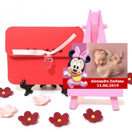 Magnet Contur Minnie Mouse 16