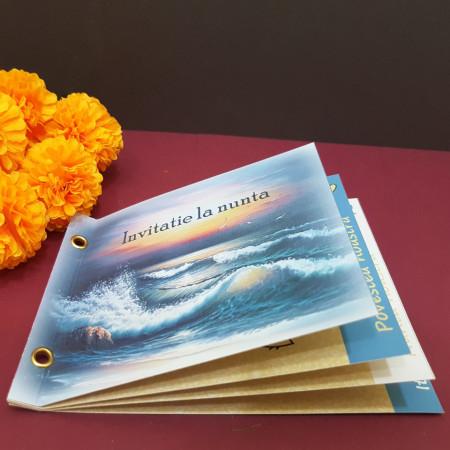 Invitatie Nunta Poveste Romantic