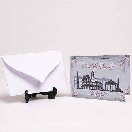 Invitatie Nunta Roma In Love