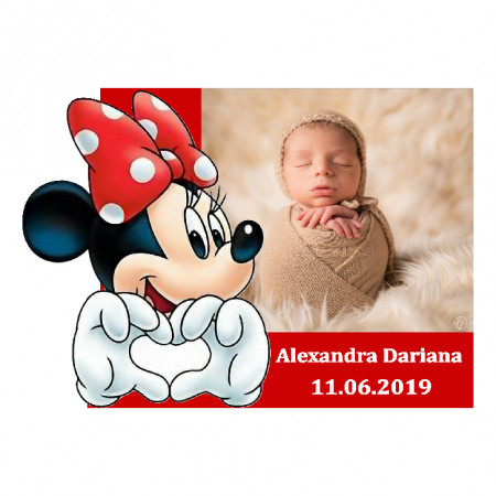 Magnet Contur Minnie Mouse 29