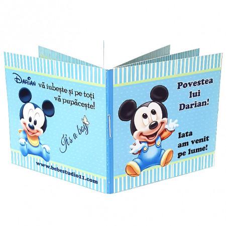 Marturie Botez Carticica 6 Foto Mickey Mouse