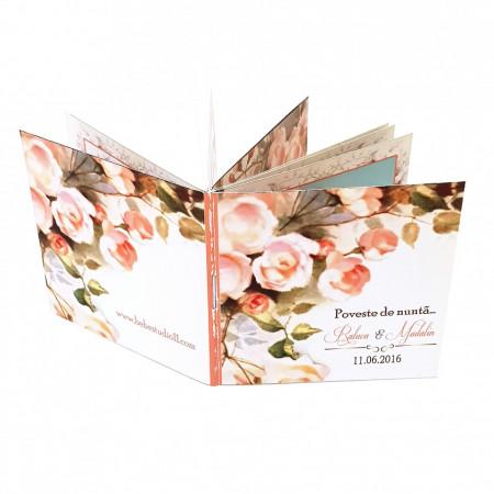 Marturie Nunta Carticica Wedding Flowers