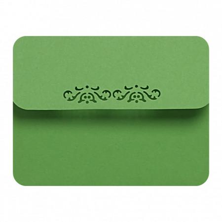Marturie Nunta Magnet Rotund Green