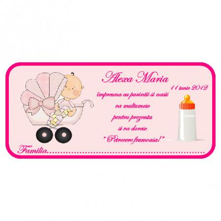 Plic Botez Bebelusa 60