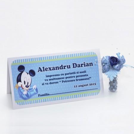 Plic Botez Mickey Mouse
